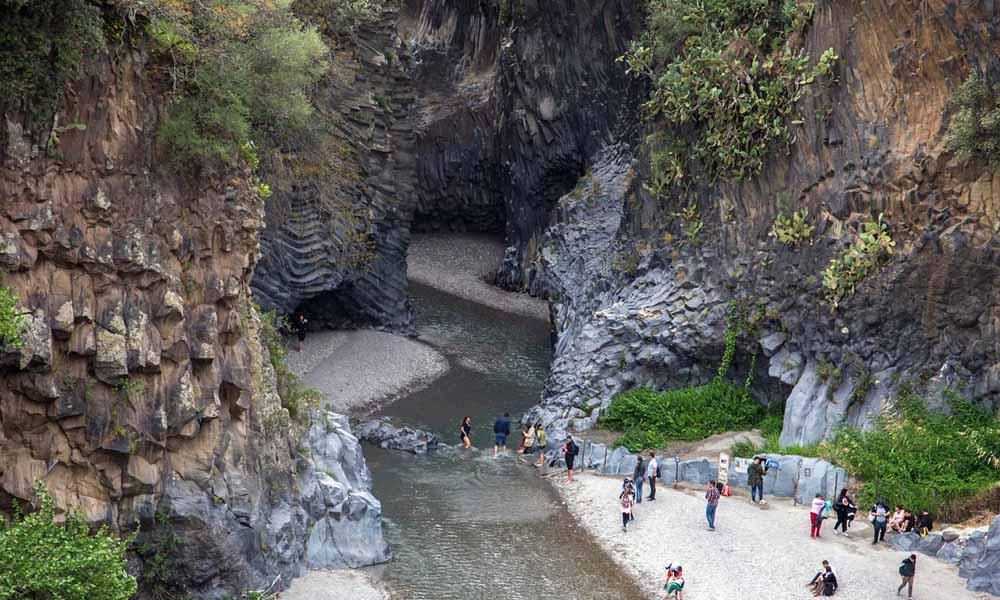 Alcantara gole - Alcantara Schluchten - Alcantara gorges