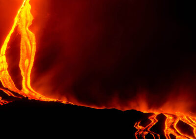 Etna colate di lava - Etna lava wastelands - Lavazungen Ätna