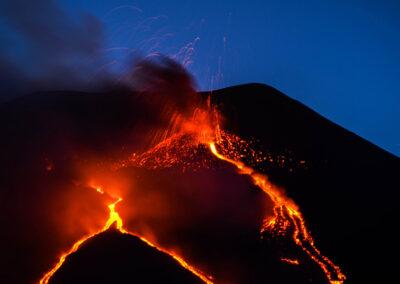 Etna eruzione - Etna eruption - Ätna-Ausbruch